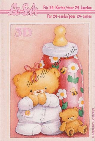Baby Birth Mini 3D Decoupage Book from Le Suh